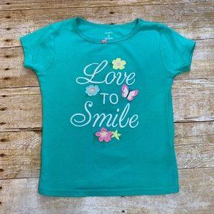Girls T-shirt by Carter's. Size 6